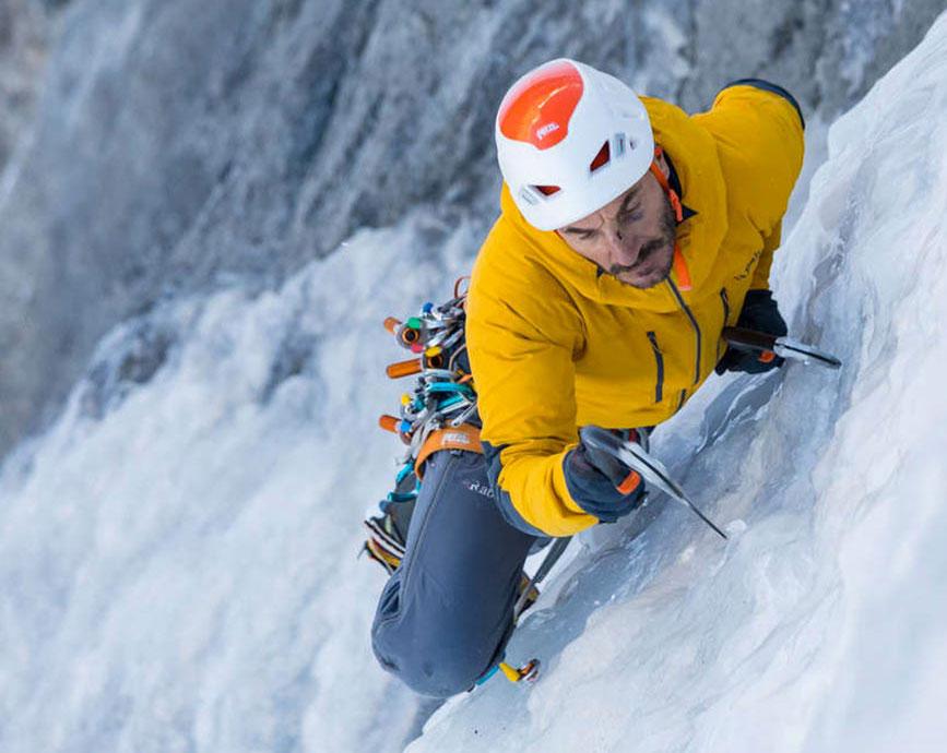 Attrezzature per l'arrampicata - climbing